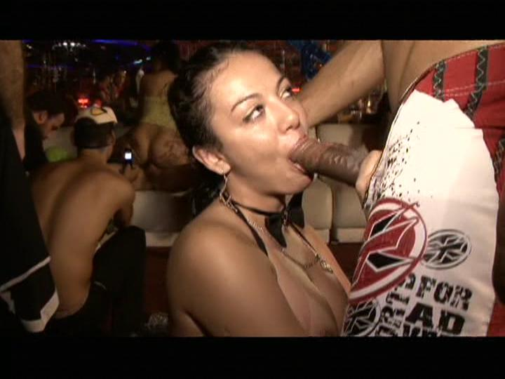 This clip from Carnaval Pancadao Sexxxy 2008 from Sexxxy Brasil features a look inside the sex clubs that Brazil is famous for, with dick-sucking and fucking happening in public.