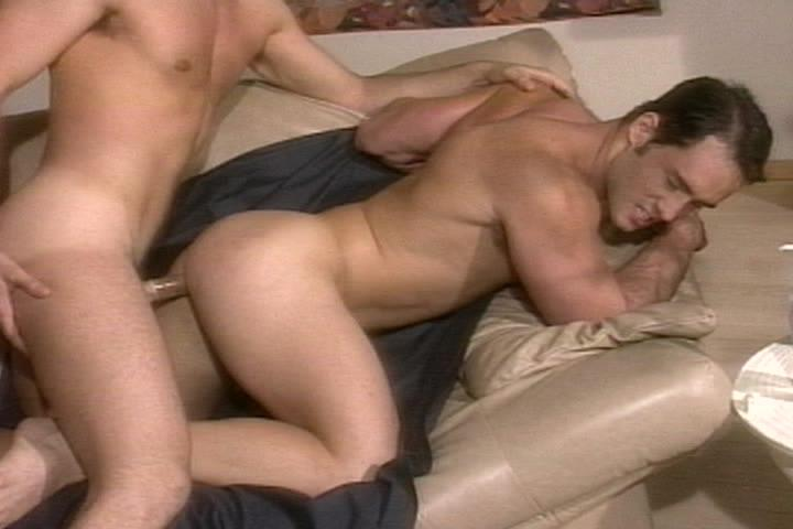 This clip from Red Alert: Director's Cut by Falcon Studios features Michael Lucas fucking the shit out of his horny friend, slamming that hard dick into that hot little cum hole, making him moan and beg for more.