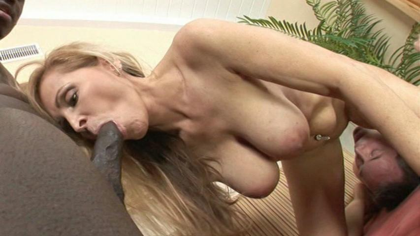Cougars And Cuckolds / This clip from Cougars And Cuckolds by Kick Ass Pictures features Nicole Moore getting fucked from behind with a big black cock while her cuckold husband licks and sucks which is all he gets.