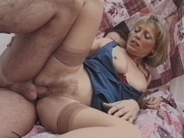 British Older Amateur Housewives / This clip from British Older Amateur Housewives by Load Enterprises and Simply Films features a hot British M.I.L.F. in stockings getting fucked good by daddy, taking it doggy-style and everything.