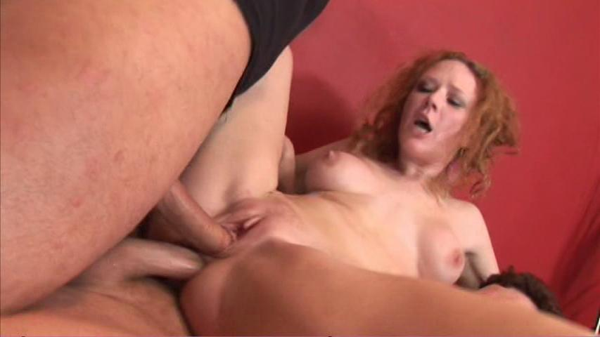 This clip from We Love Red Heads by Pink Visual features Audrey Hollander getting stuffed in all her holes, taking one in her tight wet ass and one in her sweet little pussy, working it hard and deep so she can get off hard.