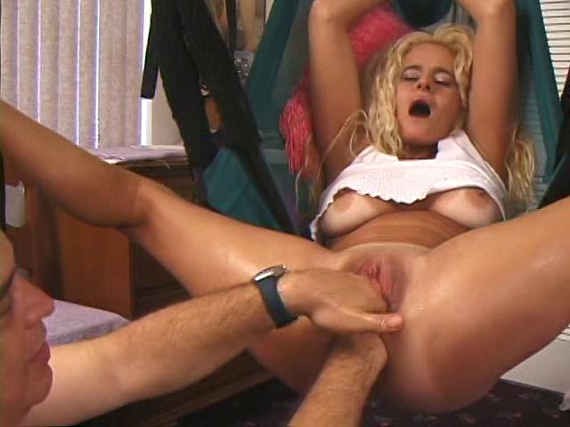 Busty cock cum sucking woman
