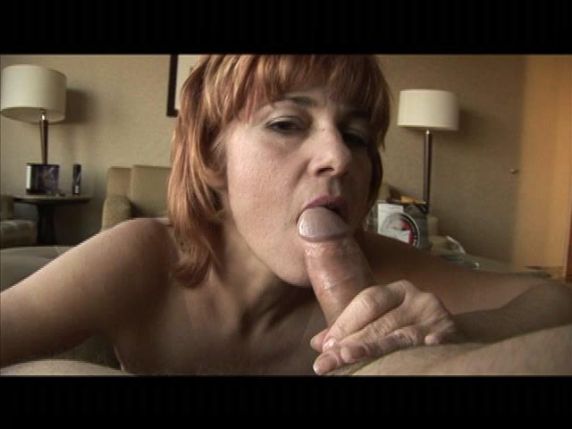 Grandmas On The Prowl 2 / This clip from Grandmas On The Prowl 2 by Totally Tasteless Video features a nice home-style blowjob with somebody's horny grandma sucking that dick slow and deep, loving it like only granny can.