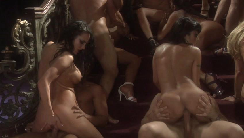 2040 / This clip from 2040 by Wicked Pictures features a big crazy orgy scene with Jessica Drake, Tory Lane, Kaylani Lei, Kayla Carrera and Jayden Jaymes all getting fucked nice and deep, all cumming together.