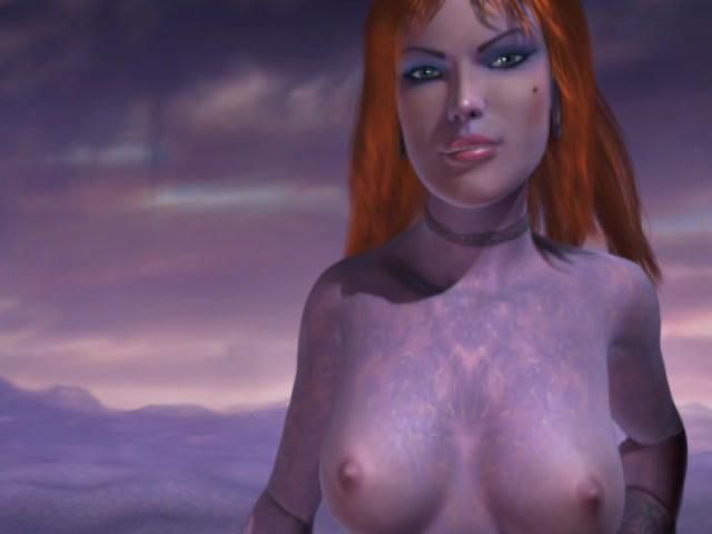 Pornomation 3 / This clip from Pornomation 3 by Cherry Boxxx, K-Beech and Pornotopia features a strange, surreal animation scene with a hot supernatural slut who is all torqued up and ready to fuck.