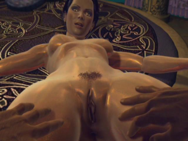 Pornomation 3 / This clip from Pornomation 3 by Cherry Boxxx, K-Beech and Pornotopia features a hot animated scene with a horny whore with glistening skin getting her perfect little pussy licked softly by a painted jungle man.
