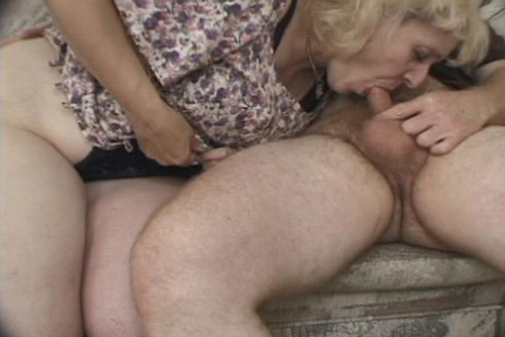 Fat And Hairy Mamas 2 / This clip from Fat And Hairy Mamas 2 by Totally Tasteless Video features a nasty little blowjob from a horny mom, and she's getting a mouthful, tasting that hot dick and getting wet while she eats that thing.