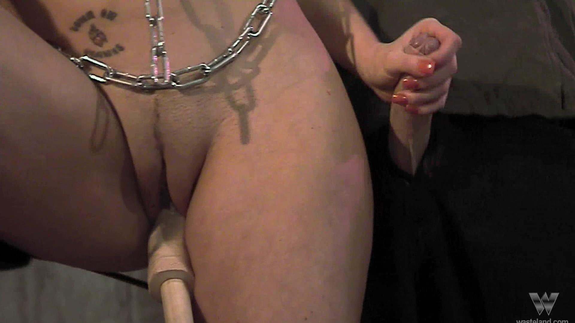 Sex Slave Daisy Duxe 2 / Daisy Duxe is chained up and brought to the brink of orgasm, only to be denied! This BDSM clip is from Wasteland, the finest in fetish!