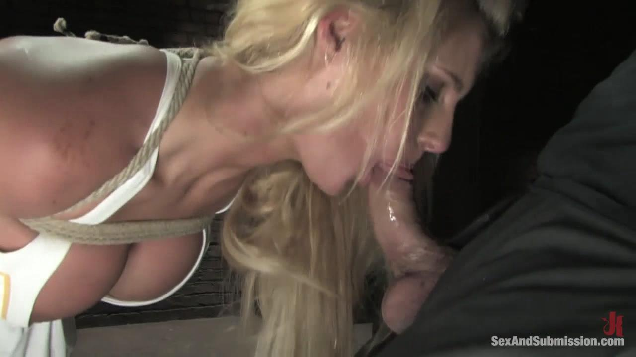 Sex And Submission With Phoenix Marie / Phoenix Marie is a drop dead gorgeous blonde with big tits and a great ass. She can take a lot of pain. Steven does not go easy on her. After hard punishment, she is more than happy to please by sucking cock and getting fucked