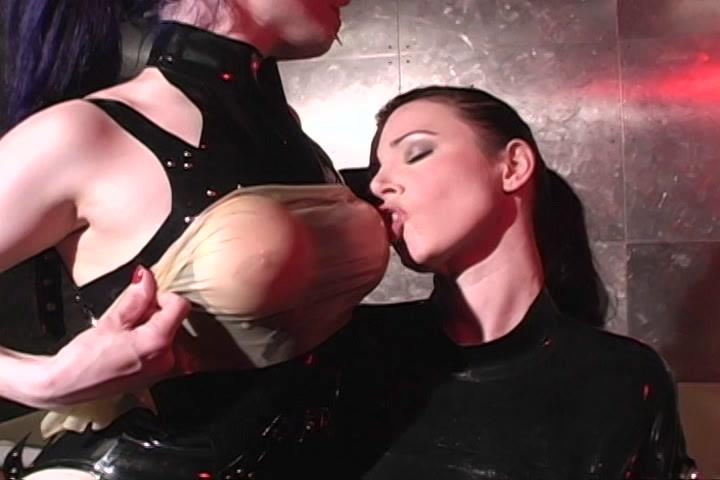 Rapture / We can clearly see that these rubber clad vixens are experienced in total control. With all the dildos, rubbing, strap-ons and restraints, you can see the smile on their faces - even through the rubber masks!