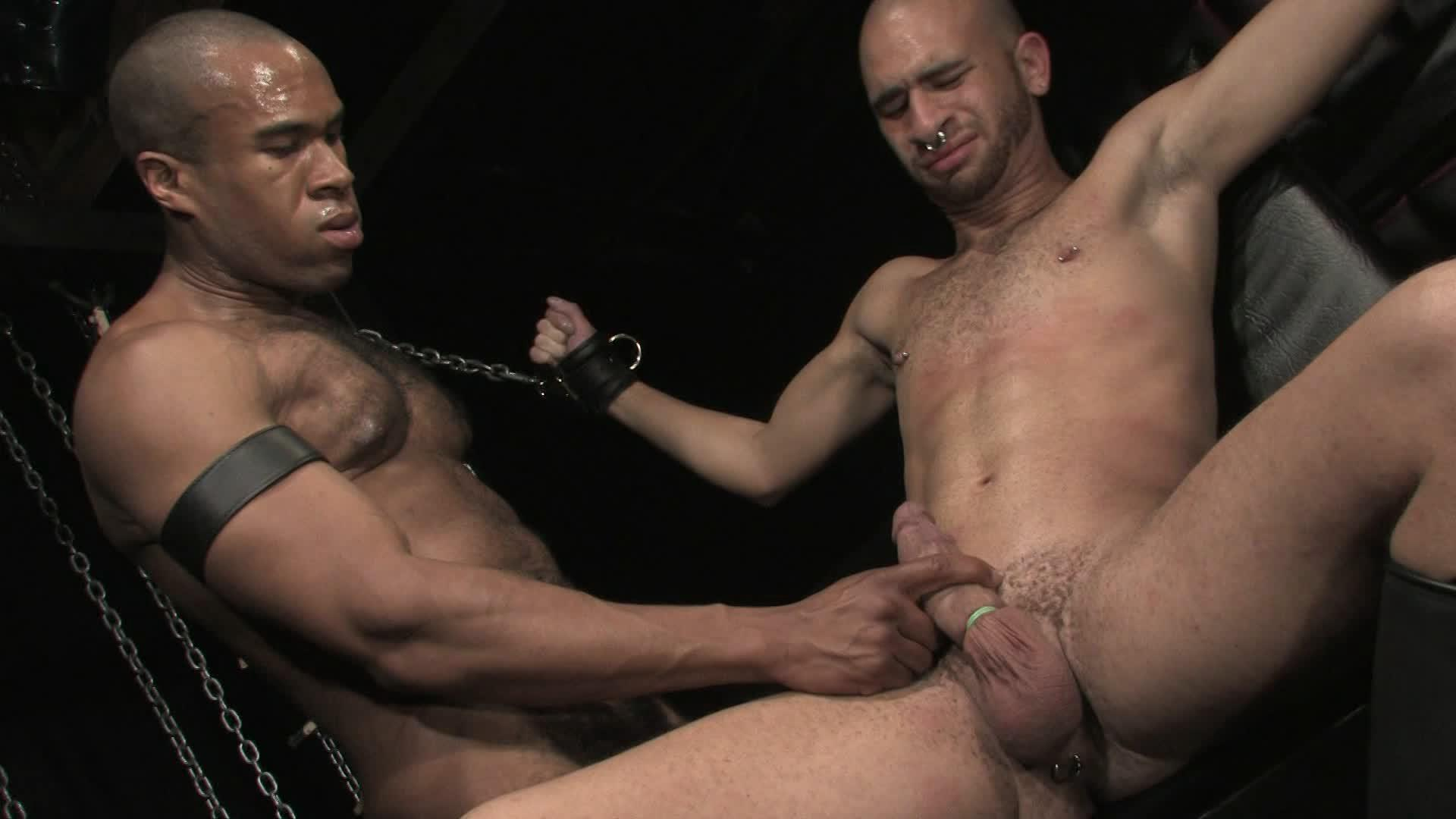 The dungeon is filled with dig dicks, hard muscle and rough sex for the latest release from Fetish Force.