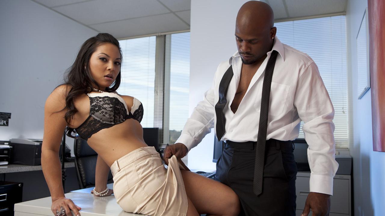 Porn office affair
