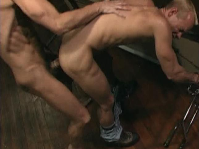This super-intense ass-fucking scene from Cops Gone Bad by Raging Stallion Studios features Sky Donavon and Michael Brandon getting off loud and hard, slamming that hard cock in and out of that tight muscled ass.