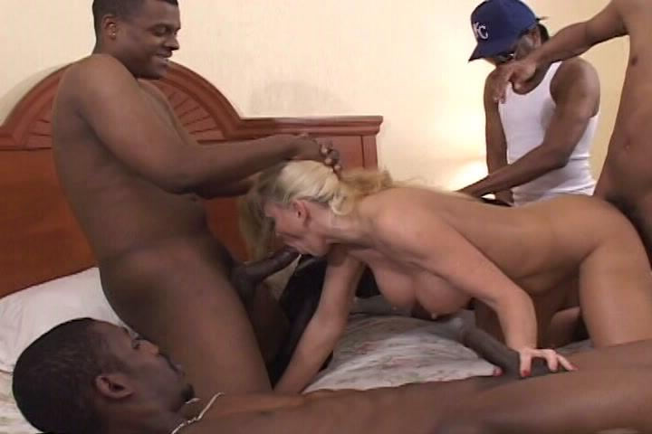 Mondo Extreme 108: Amateur Interracial MILF Gangbangs