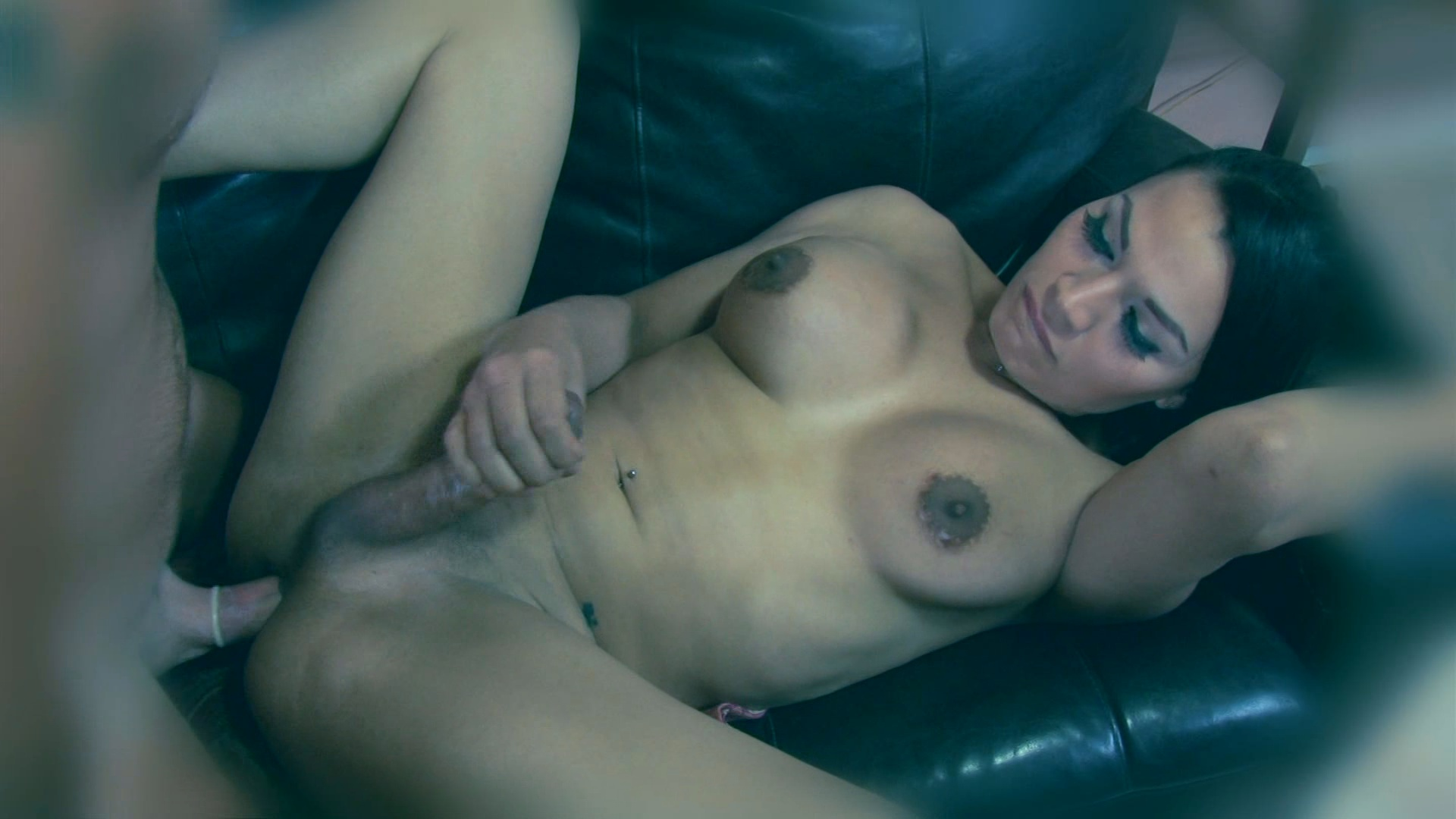 Transsexual Babysitters 22 / Watch big she-cocks slide all the way into tight male assholes in this wickedly sexy shemale clip from Devil's Film!