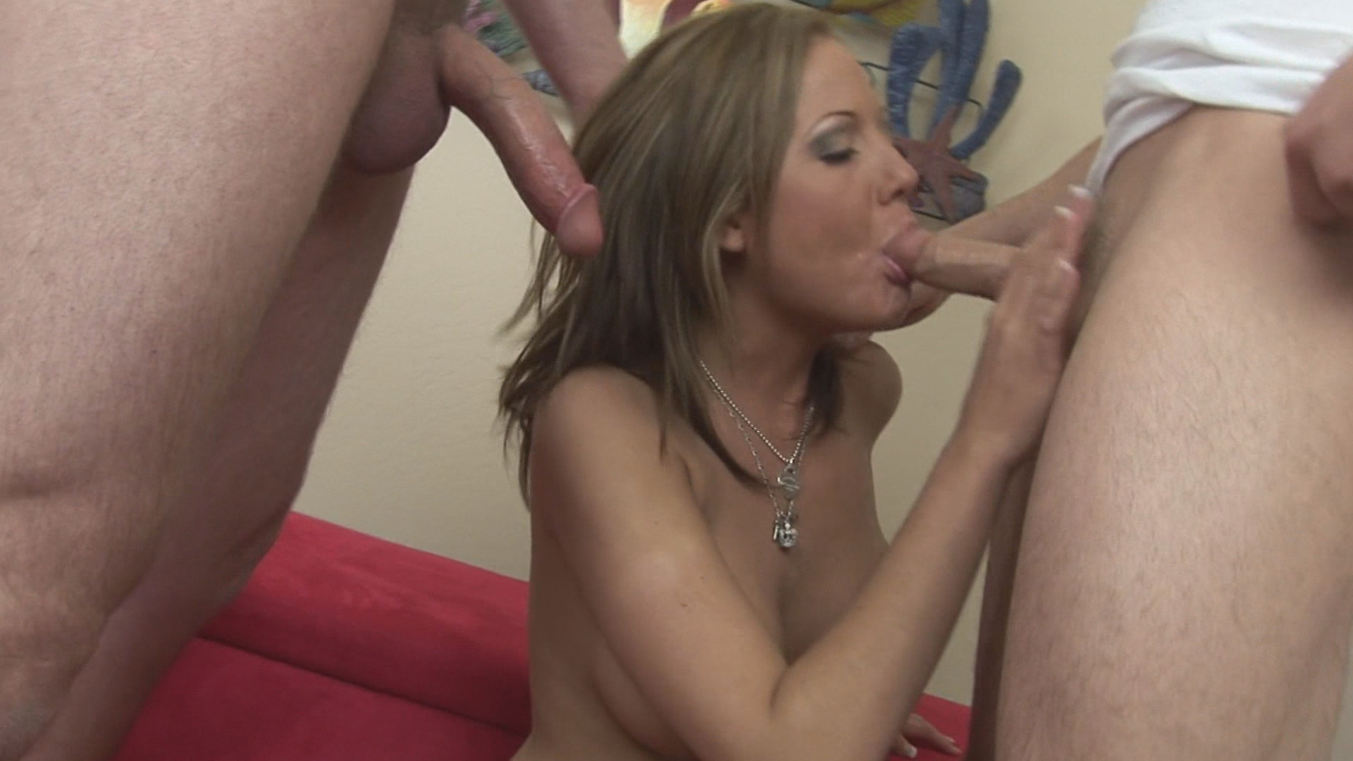 Fucking Sophia 8 / When it comes to fucking, Sophia does not fuck around. Not at all. Whether she's gagging on multiple cocks, getting double-stuffed in the muff, taking a monster cock to the ass, or just cramming sex toys in every orifice, she can only do things one way...