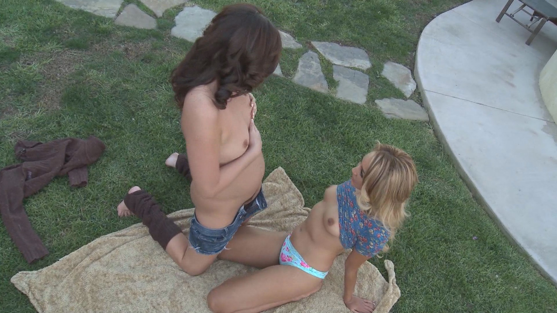 ATK Bushy Outdoors / Hairy pussy teen porn! In the beginning there was bush and it was all good. Nude and natural was the way nature intended and we agree!