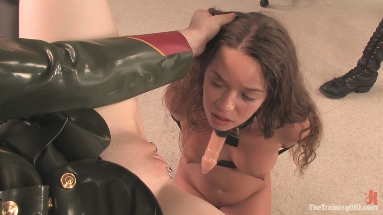 The Training Of O: Devaun, Day Three / Sex Slave: Teach her that there is more to being a sex slave than fucking and sucking. Anal Training: Tentative and slow. Continue with small toys to further stretch her slave asshole.