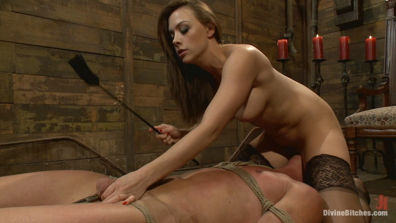 Divine Bitches:  A Divine Introduction / When Chanel Preston is in the room, you immediately get the sense you're in the presence of a goddess. With her killer body, seductive eyes and devious attitude she will render you helpless and break you down into the little submissive man you are.