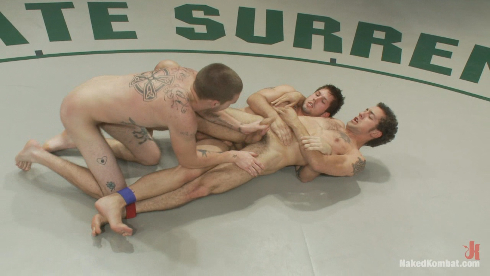 Naked Kombat: Hayden Russo And Jake Austin VS DJ And Brandon Bangs The Tag Team Match