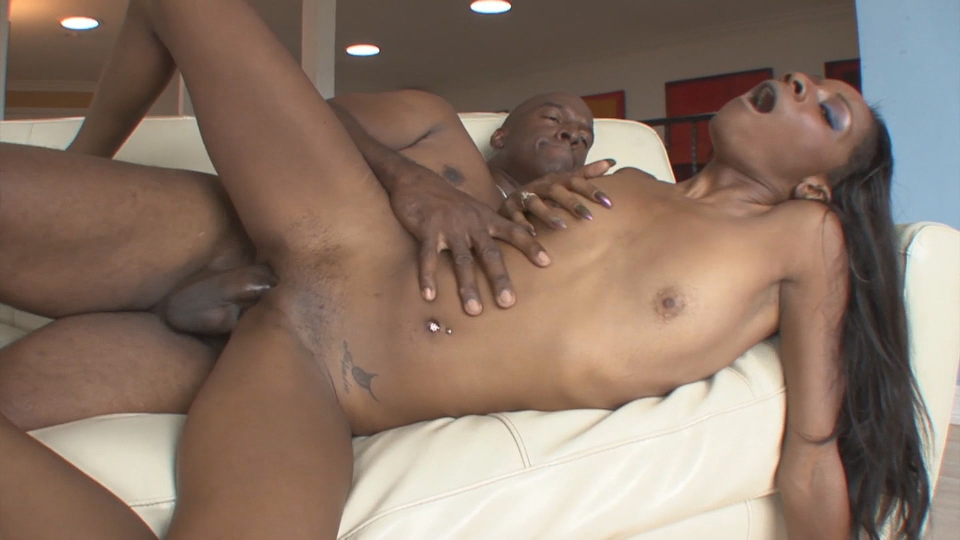 Coffee brown black anal addiction