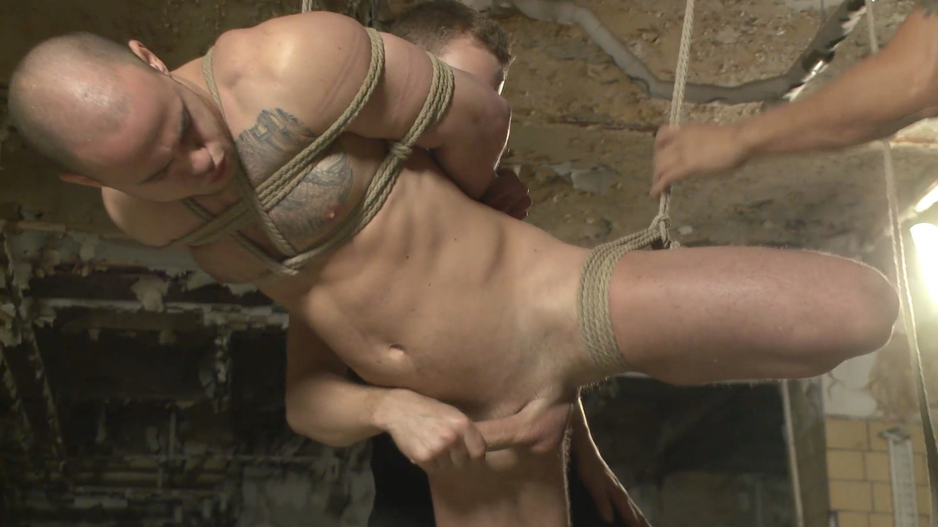 Men On Edge: Straight German Stud Gets Edged While His Girlfriend Watches