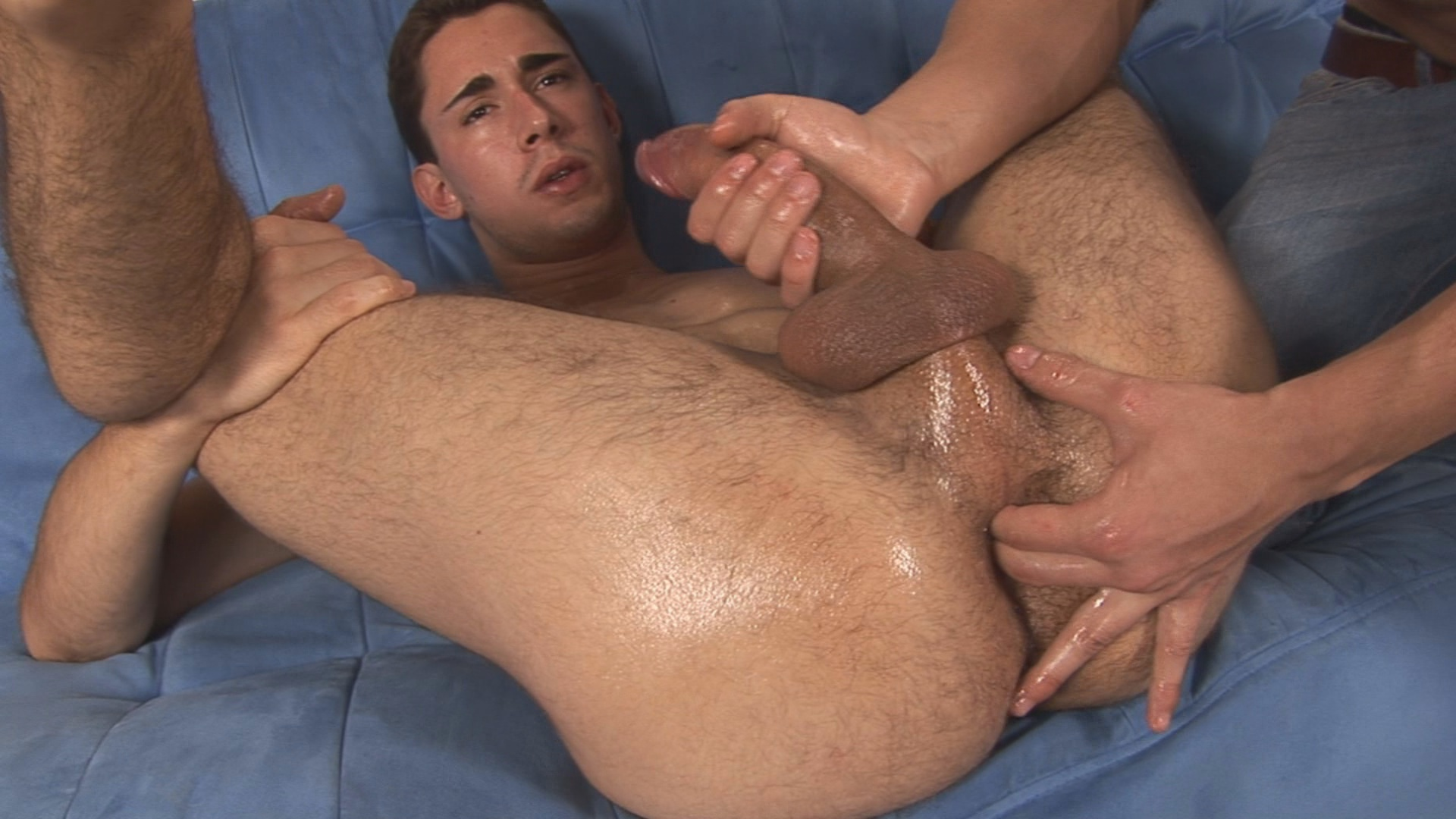 Helping hand gay video