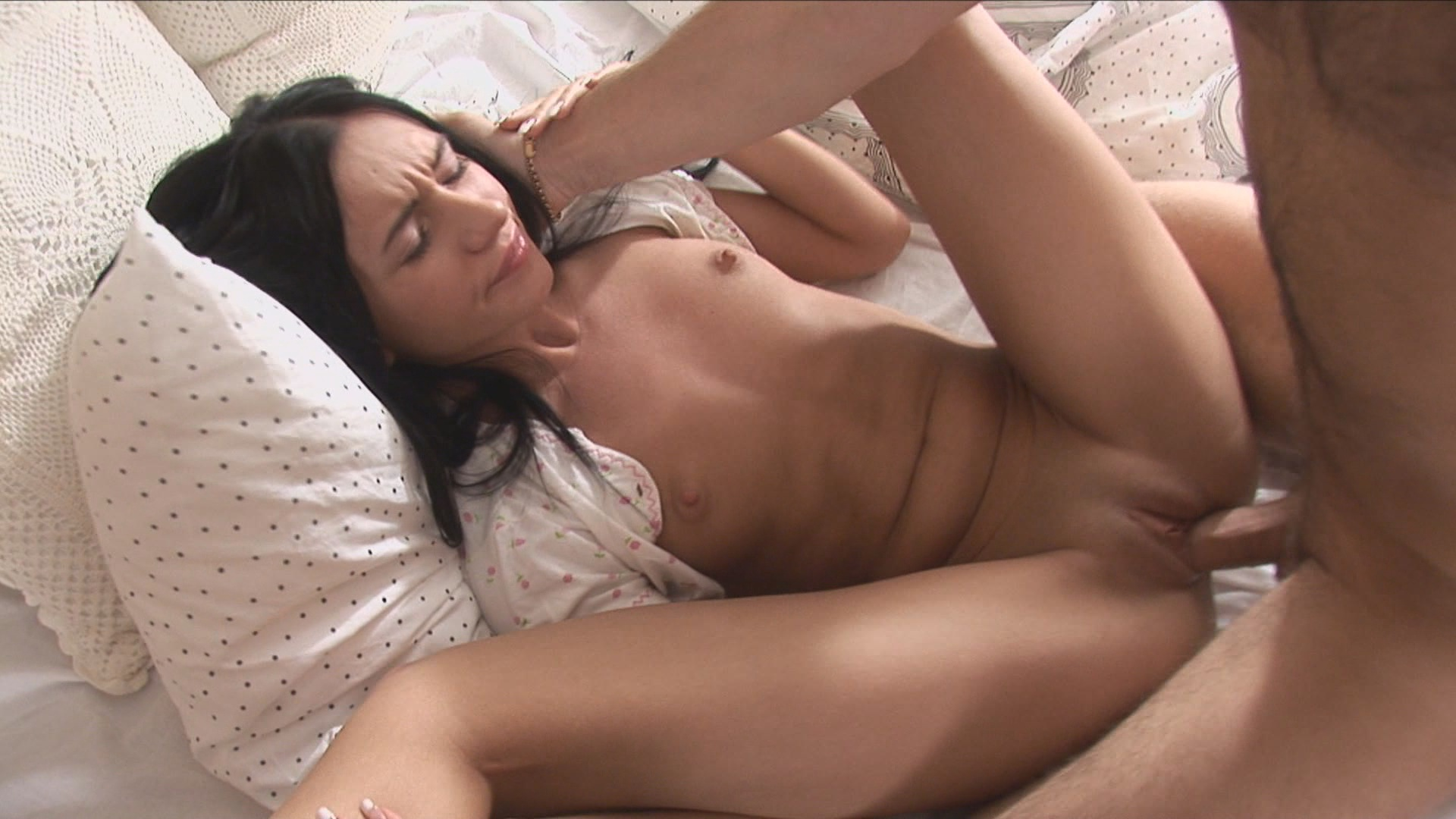 Pornstar sexy wife touching her sensitive