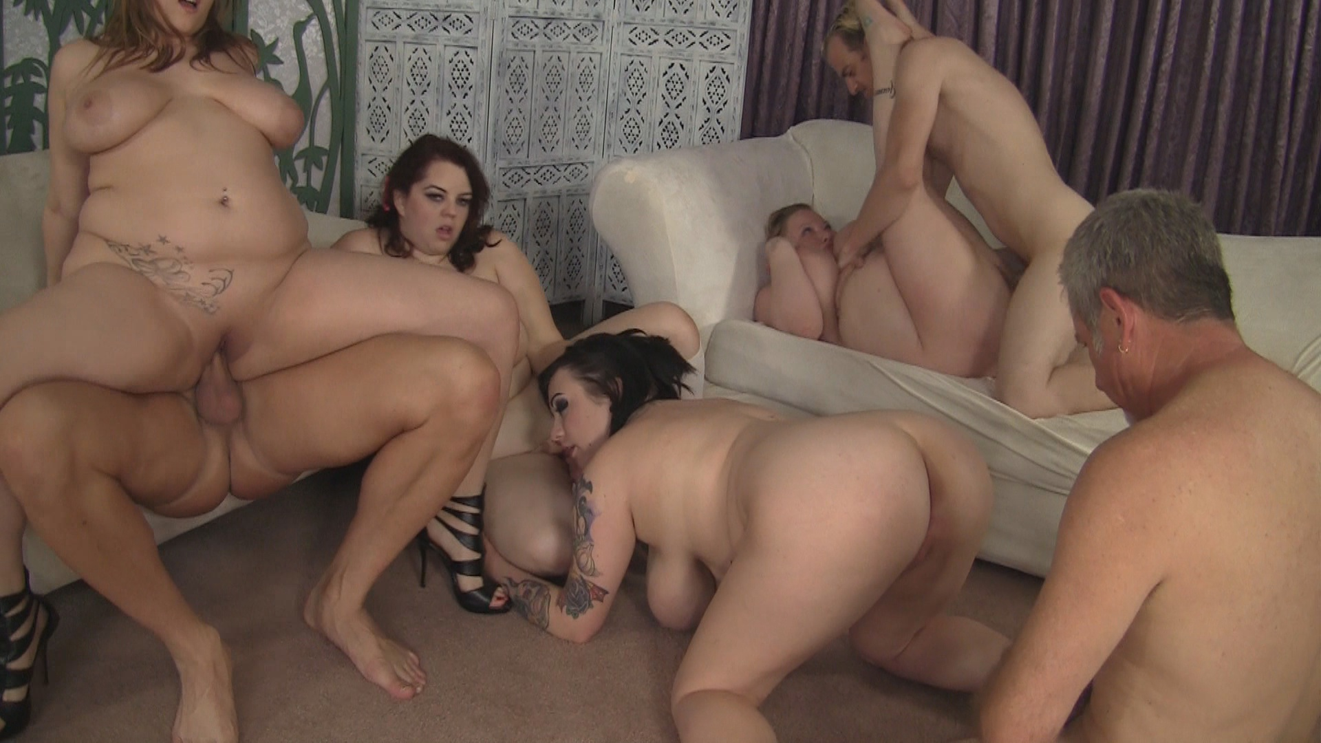 My Favorite BBW Orgy