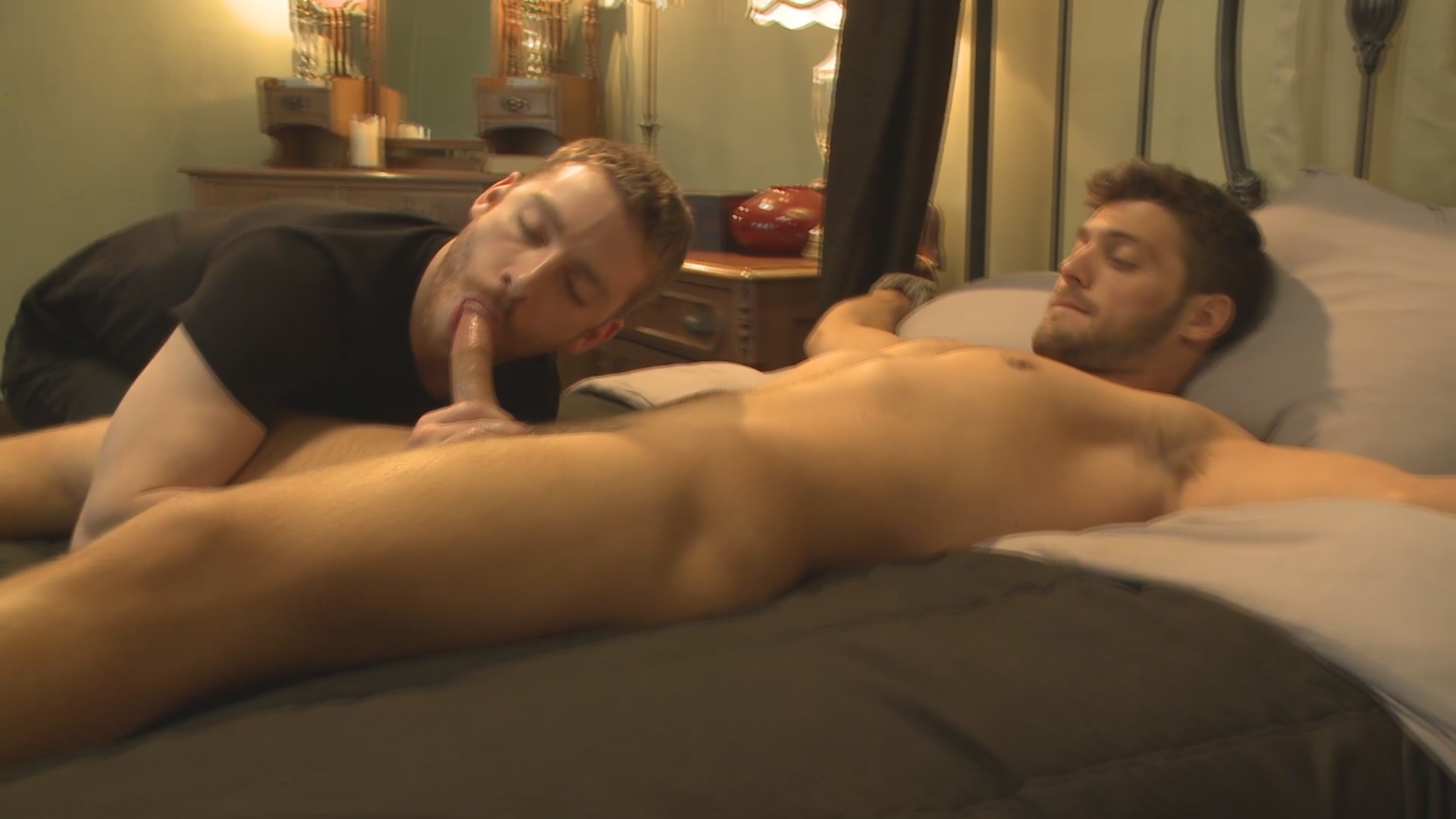 Men On Edge: Super Hunk Andrew Blue Bound And Begging To Cum