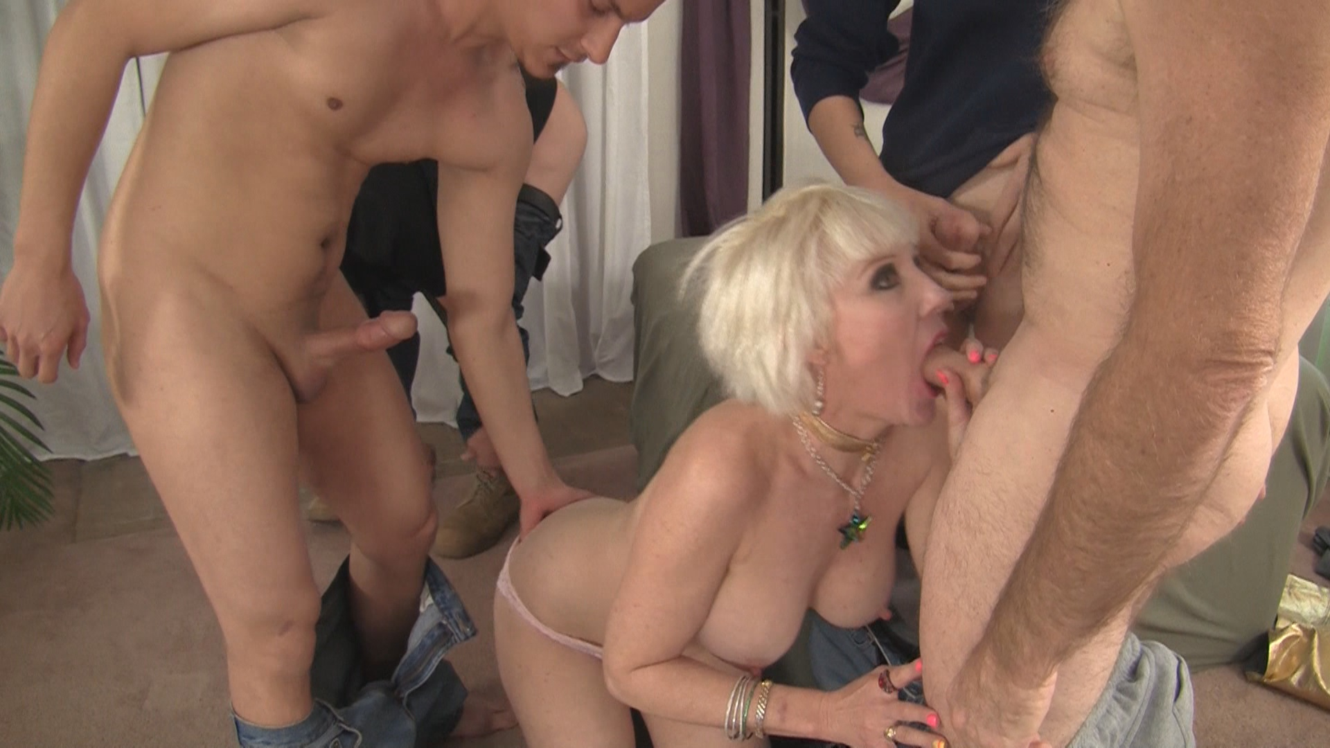 My Favorite Over 50 Gang Bang 2 xvideos