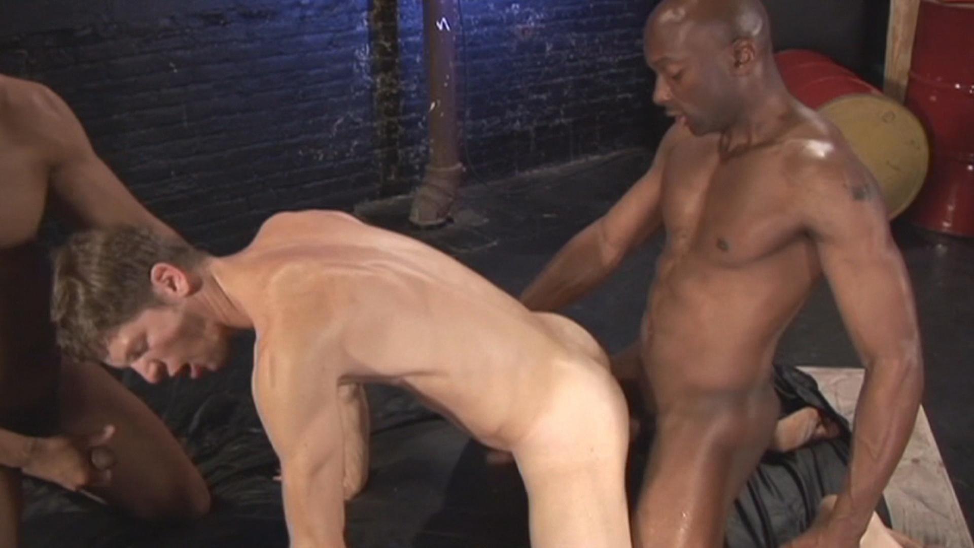 gay man black v white