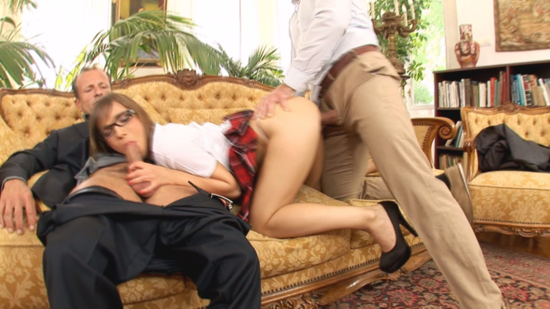 image Tera gold seduced nerd to be fucked