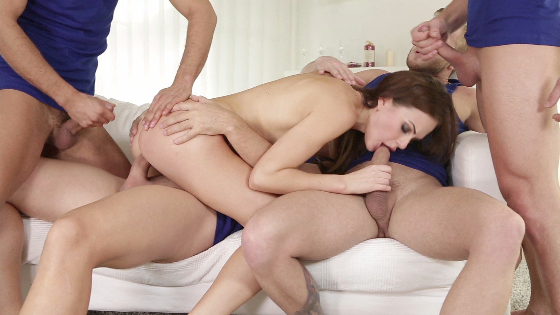 4 On 1 Gangbangs 7 xvideos