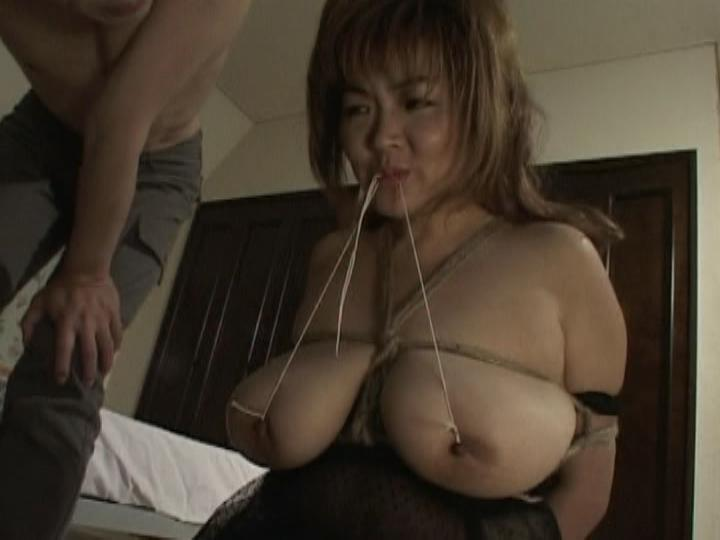 Mother-In-Law Joe Eren / This Asian BDSM clip from Mother-In-Law Joe Eren by Cinema Gas Unit Corp. features the loveable Eren bound and having her big natural breasts tied up, punished and teased.