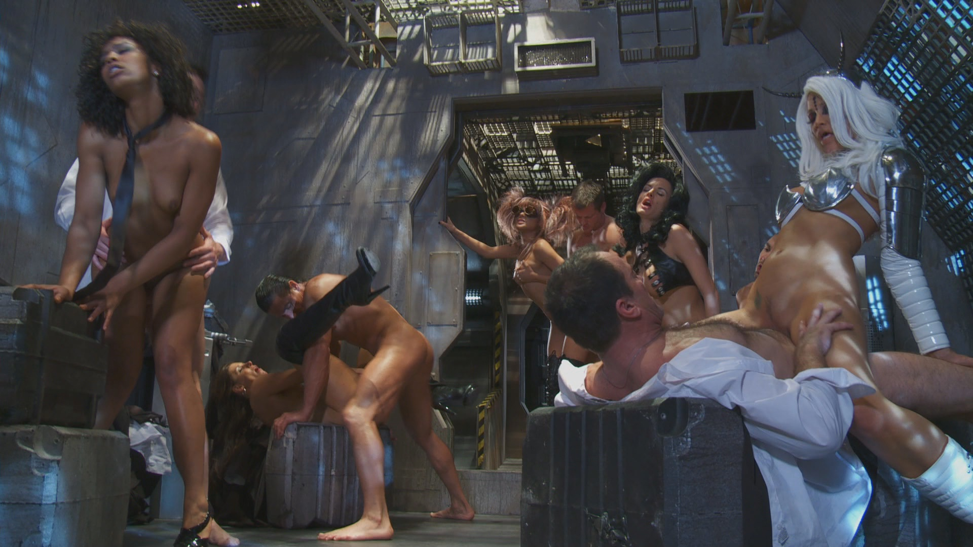 All Porn Parody Movies parody porn video » alektra blue jessica drake » men in